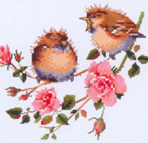HC778 - Rose Chick-Chat by Valerie Pfeiffer - Harmony - Click Image to Close